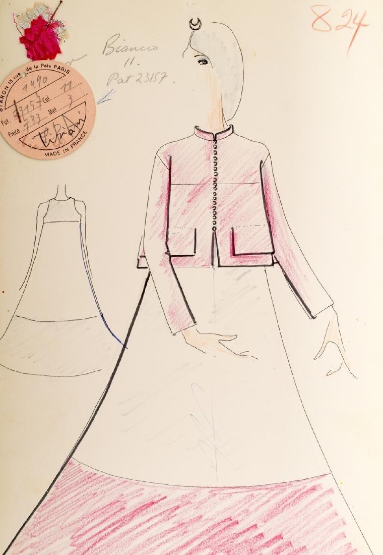 Karl Lagerfeld Fashion Drawing - 5