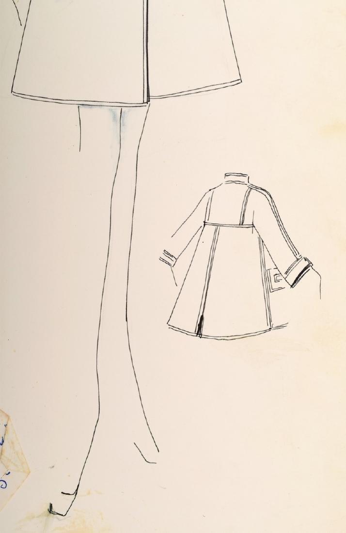 Karl Lagerfeld Fashion Drawing - 4