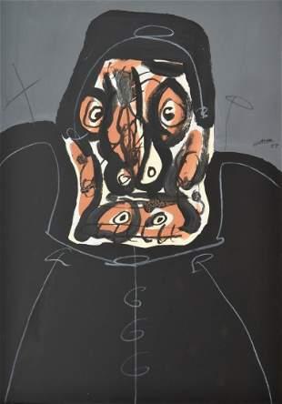 Antonio Saura Figural Painting