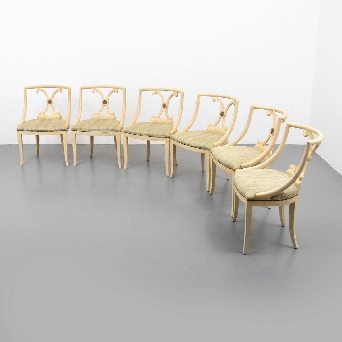 Renzo Rutilli Dining Chairs, Set of 6