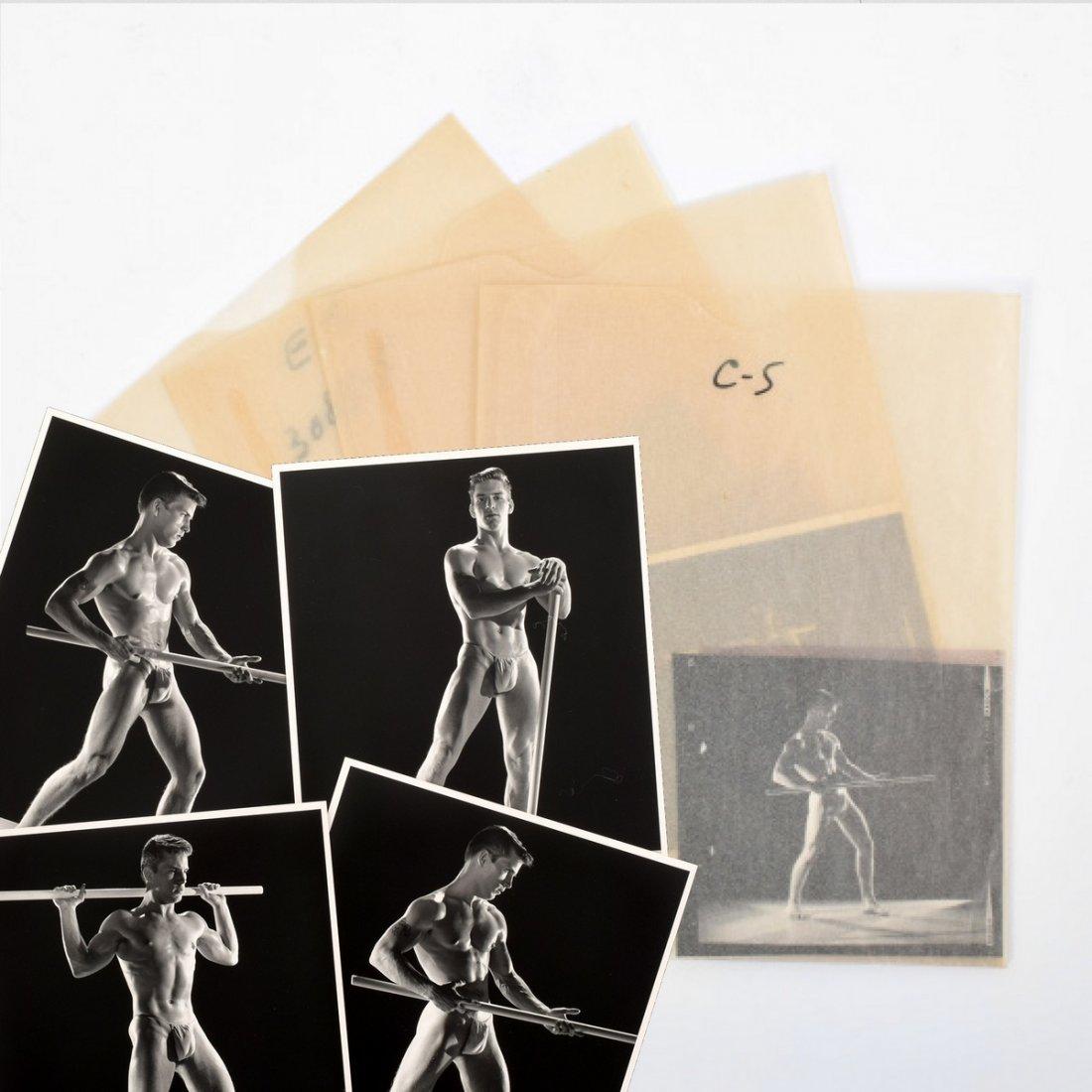 4 Joe Dallesandro Photos & Negatives, Bruce Bellas