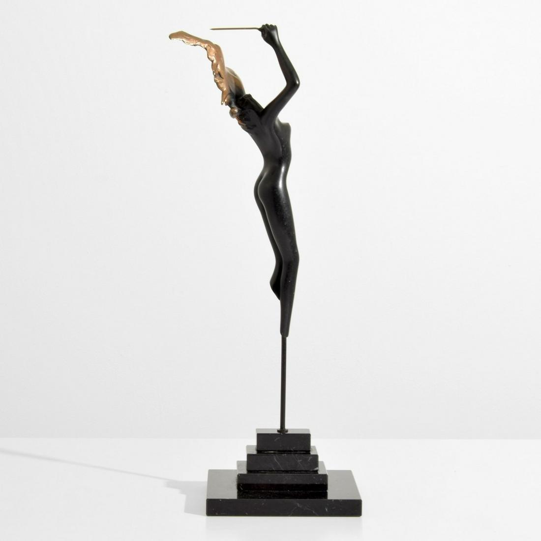 Bruno Bruni Bronze Nude Figural Sculpture