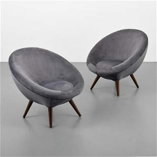 Pair of Chairs, Manner of Ico Parisi