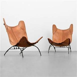 """Pair of Ralph Lauren """"Safari Camp"""" Chairs"""