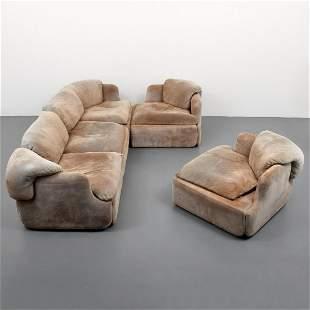 Alberto Rosselli Sofa & 2 Lounge Chairs