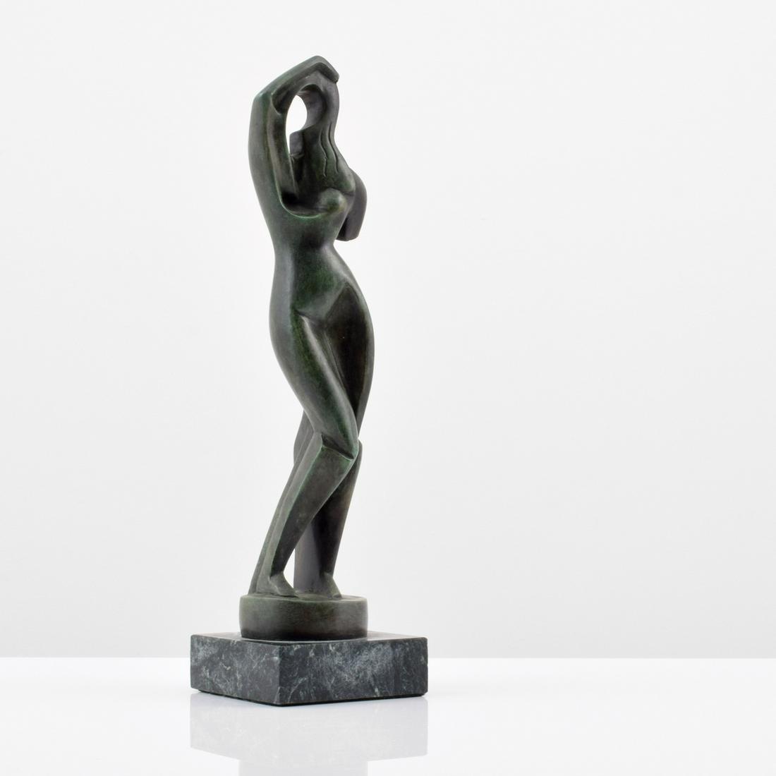 Alexander Archipenko (after) Bronze Figural Sculpture