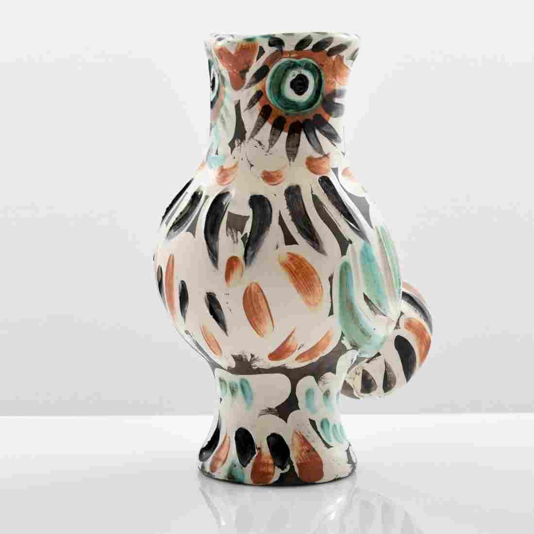 "Pablo Picasso ""Chouette"" Vase/Vessel (A.R. 602)"