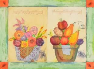 Norman LaLiberte Pomme de Terre Print Signed Ed