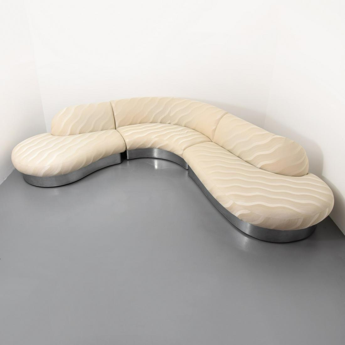 Milo Baughman 3-Piece Sectional Sofa