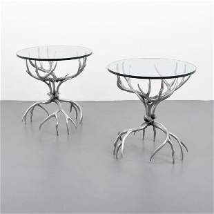 Pair of Arthur Court Occasional Tables