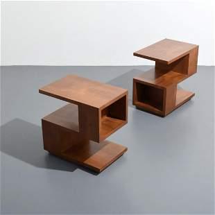 Pair of Samuel Marx Occasional Tables, Plotkin-Dresner