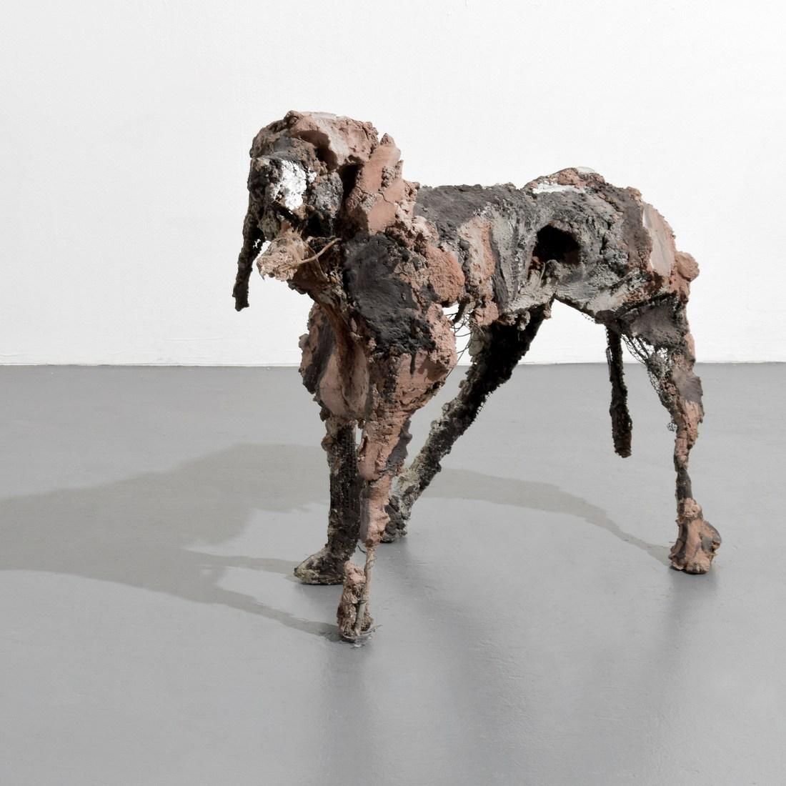 Large Velasco Vitali Dog Sculpture