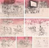 Roberto Matta Judgments Portfolio  7 Works