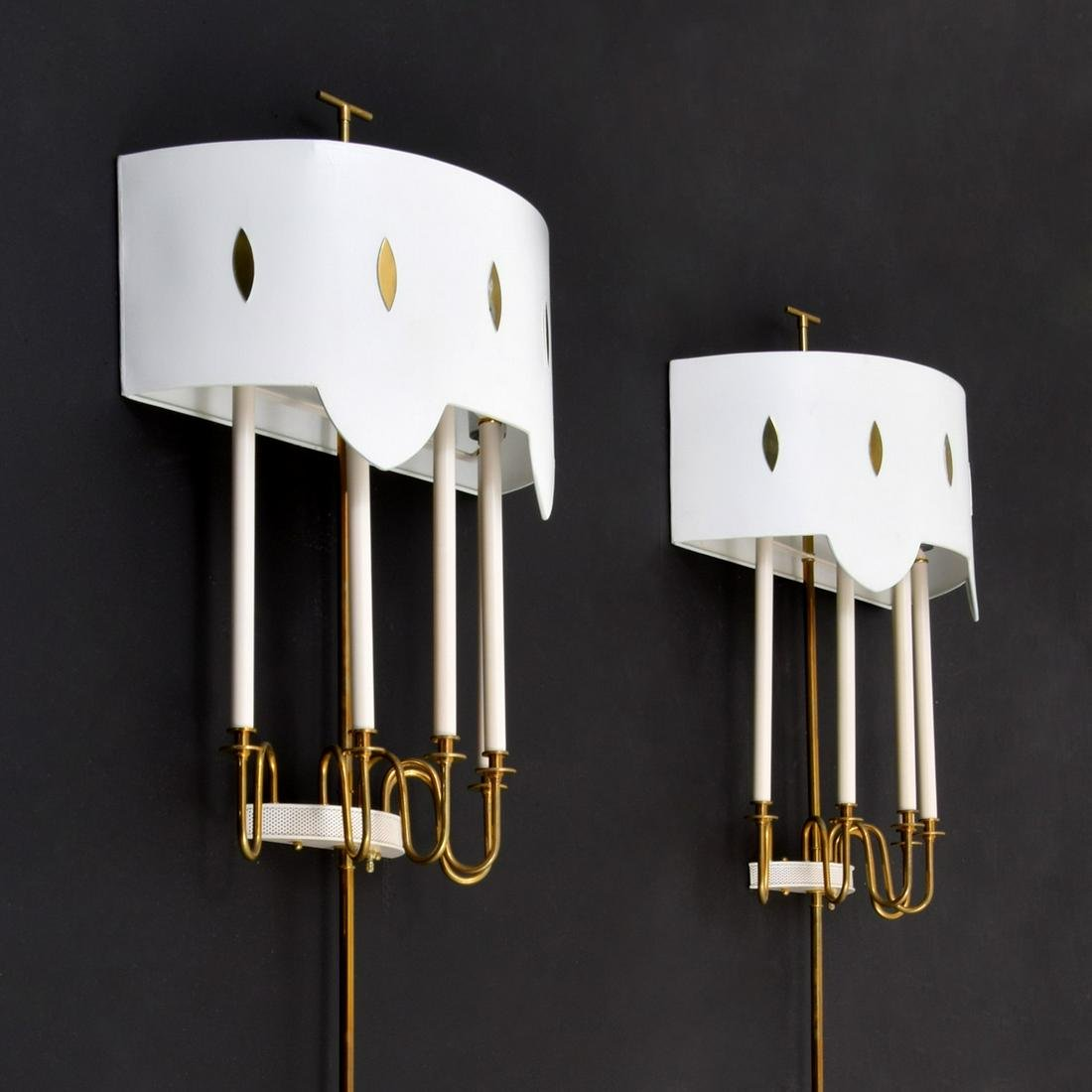 Pair of Sconces Attributed to Tommi Parzinger