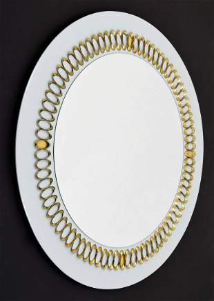 Large Mirror, Manner of Garouste & Bonetti