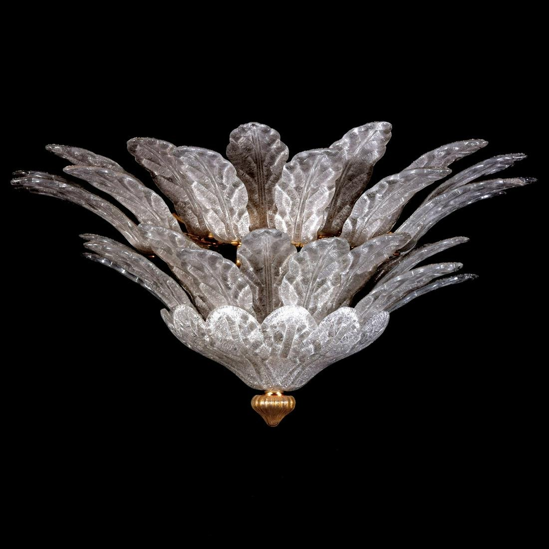 Large Tiered Murano Chandelier, Manner of Barovier &