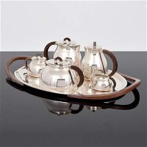 Jean Puiforcat Sterling Silver Coffee/Tea Service, 6