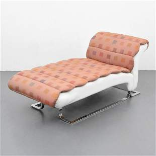 Custom Tommi Parzinger Chaise Lounge Chair