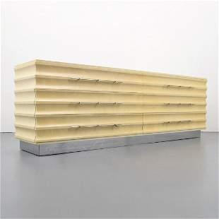 "Massive Custom Tommi Parzinger Dresser, 96""W"