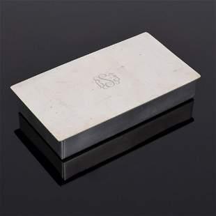 Stieff Company Pewter Box