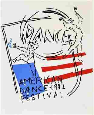 Large Judy Rifka American Dance Festival Poster