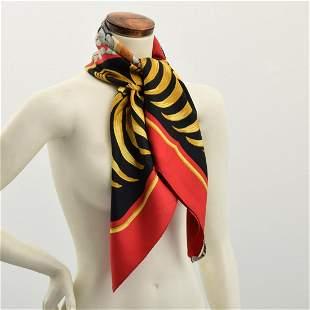 "Hermes ""Tigre Royal"" Silk Scarf"