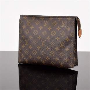 Louis Vuitton Monogram Cosmetic/Toiletry Pouch 26