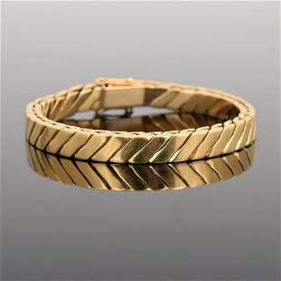 18K Gold Estate Bracelet