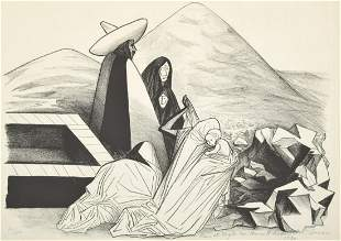 Jose Clemente Orozco Lithograph, Signed Edition