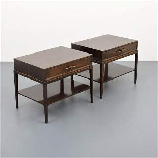 Pair of Tommi Parzinger Nightstands/Tables