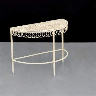 Mathieu Mategot Demi-Lune Occasional Table