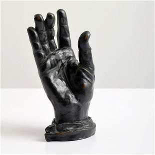 Bernard Gerald Cantor Bronze Sculpture