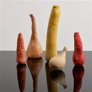 5 Jean Heilbrunn Sculptural Vessels