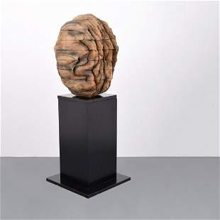 Large Ursula von Rydingsvard Sculpture