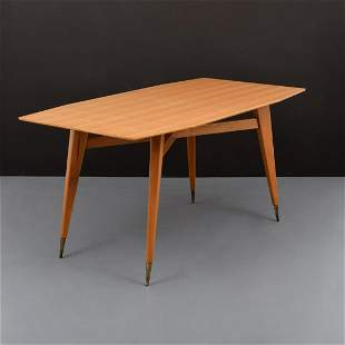 Gio Ponti Dining Table, COA Archives