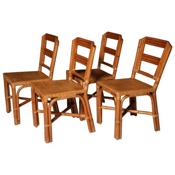 11: Vintage Rattan Chairs