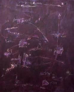 Monumental Kikuo Saito Abstract Painting