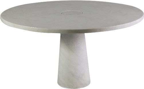 2: Angelo Mangiarotti Dining Table