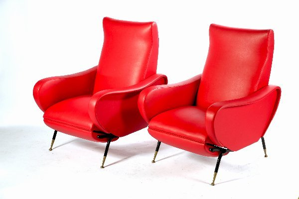 3: Fabio Lenci, Pair of Chairs