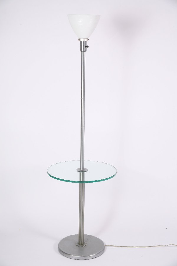 20: Walter Von Nessen Floor Lamp Table