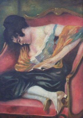 Abram Adolph Milich Painting