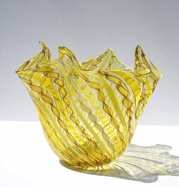 24: Fazzoletto Vase, Murano