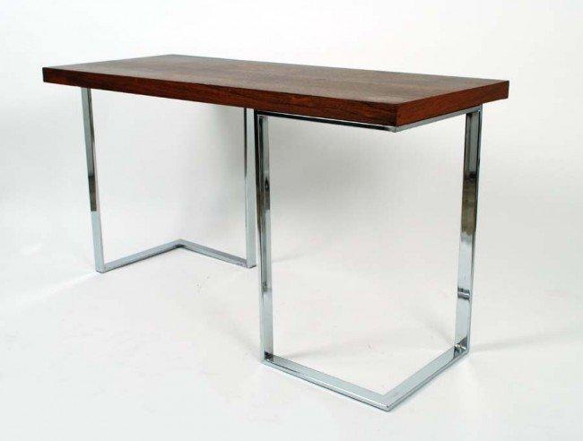 1: Milo Baughman Table / Desk