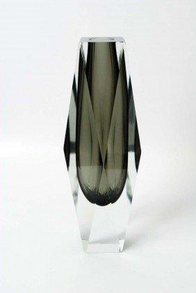 Large Luigi Mandruzzato Vase