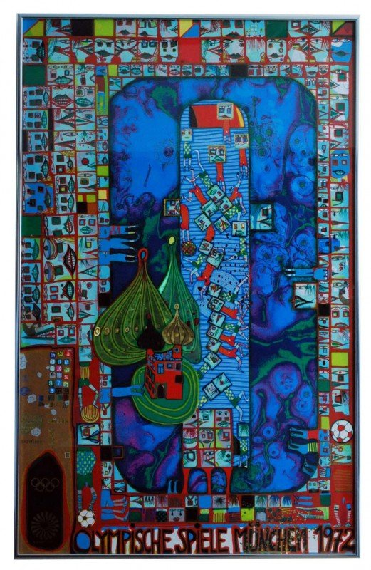 23: Friedensreich Hundertwasser Poster