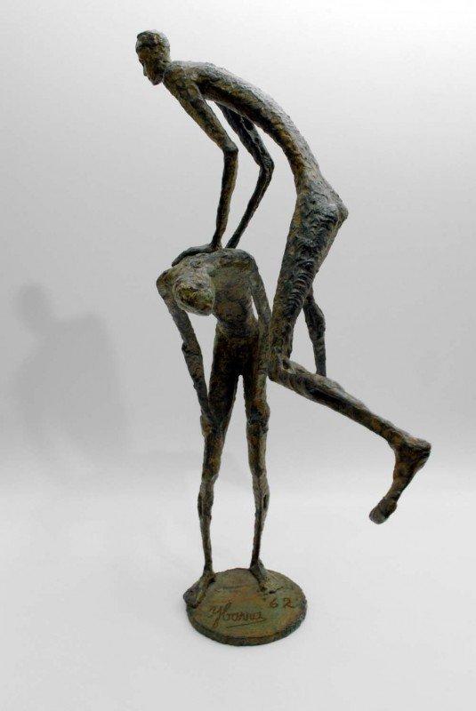 147: Simon Ybarra Sculpture