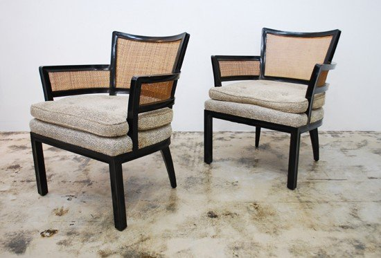 2: Pair of Arm Chairs, Manner of Baker