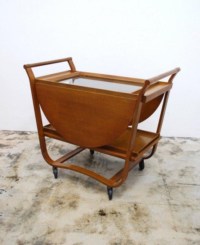 6: Early Edward Wormley Tea Cart