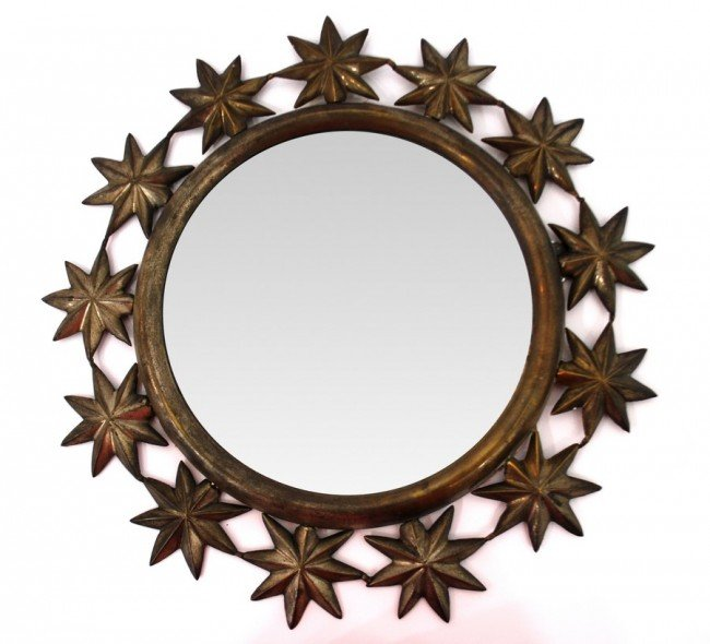 "8: Sarreid ""Star"" Mirror"