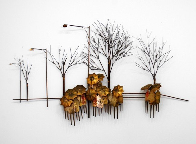 9: Curtis Jere Wall Sculpture